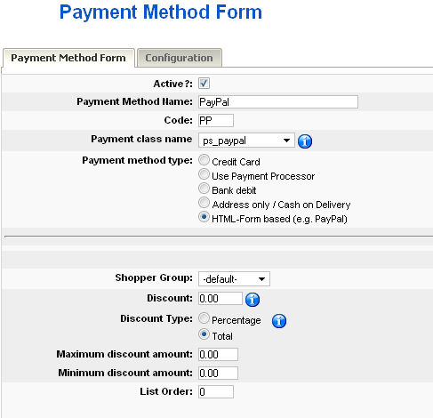 how to ask payment methods